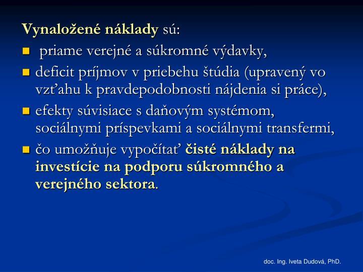 doc. Ing. Iveta Dudová, PhD.