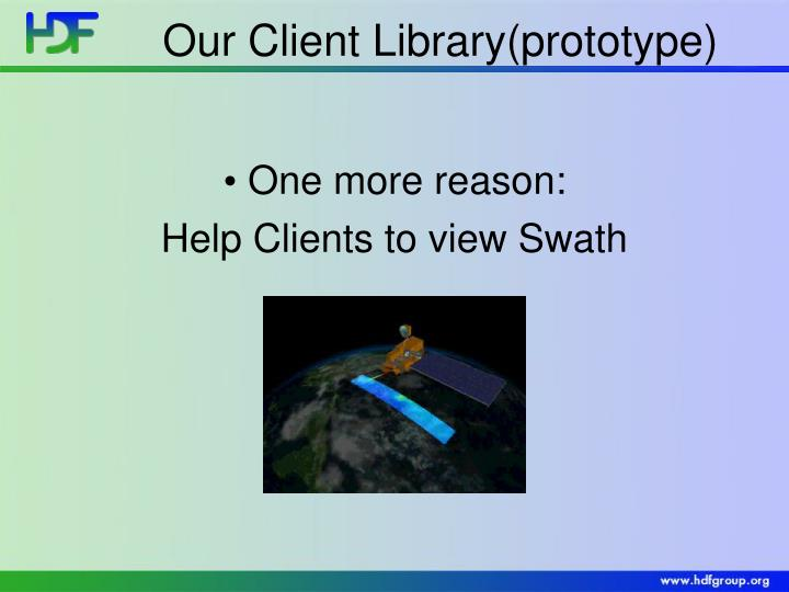 Our Client Library(prototype)
