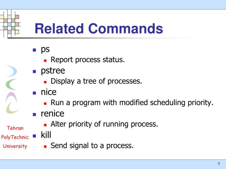 Related Commands