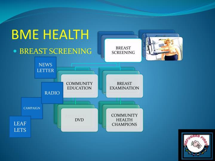 BME HEALTH