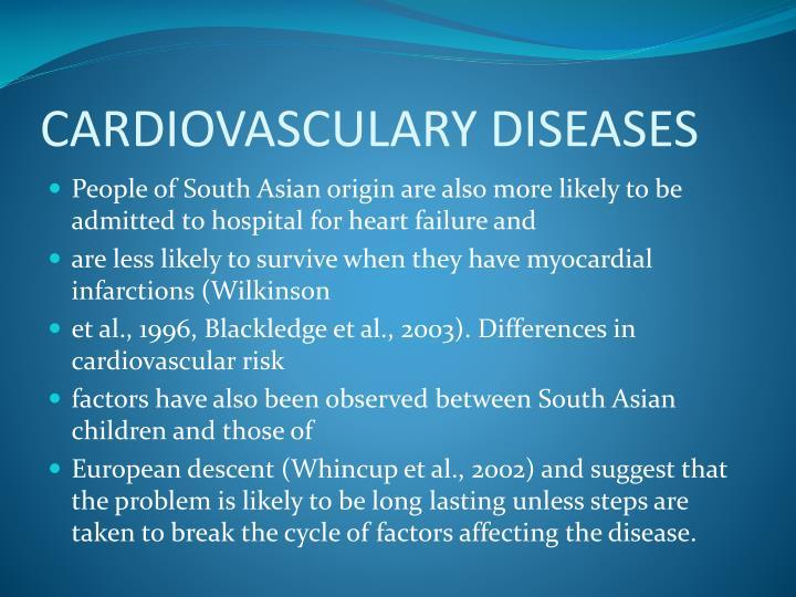 CARDIOVASCULARY DISEASES