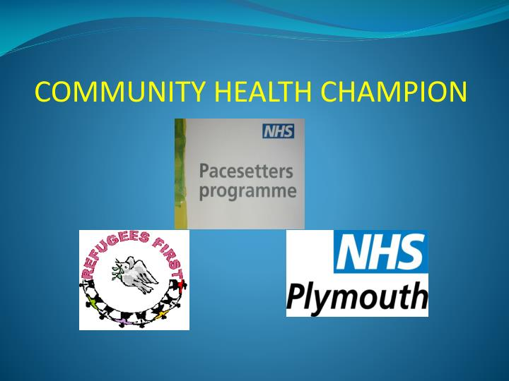Community health champion