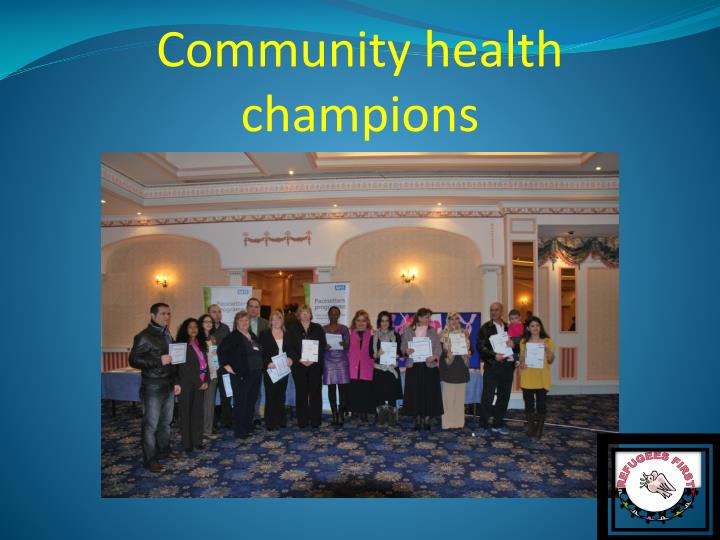Community health champions
