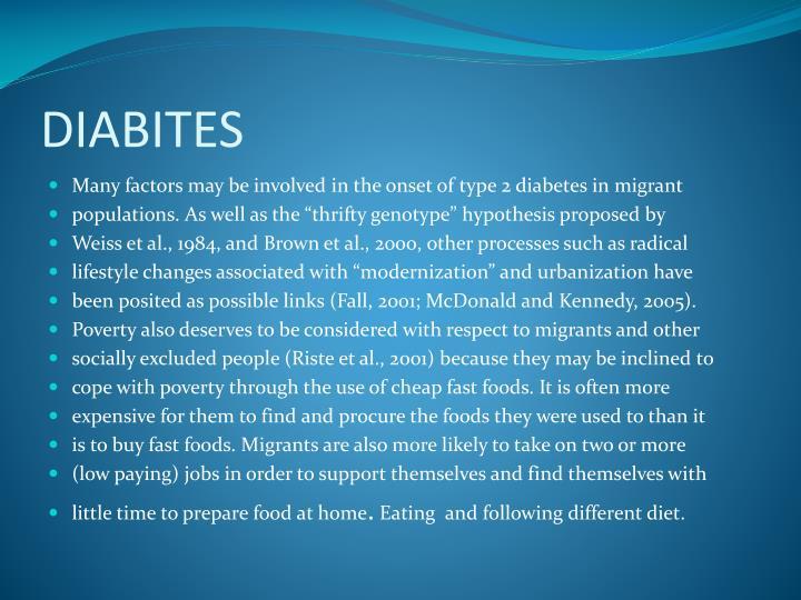 DIABITES