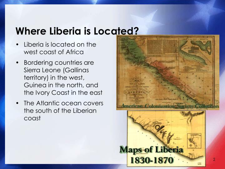 Where liberia is located