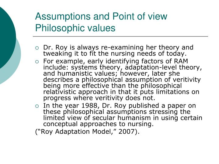 values and assumptions essay Assumptions and values (othell essays: over 180,000 assumptions and values (othell essays, assumptions and values (othell term papers, assumptions and values (othell research paper, book reports 184 990 essays, term and research papers available for unlimited access.