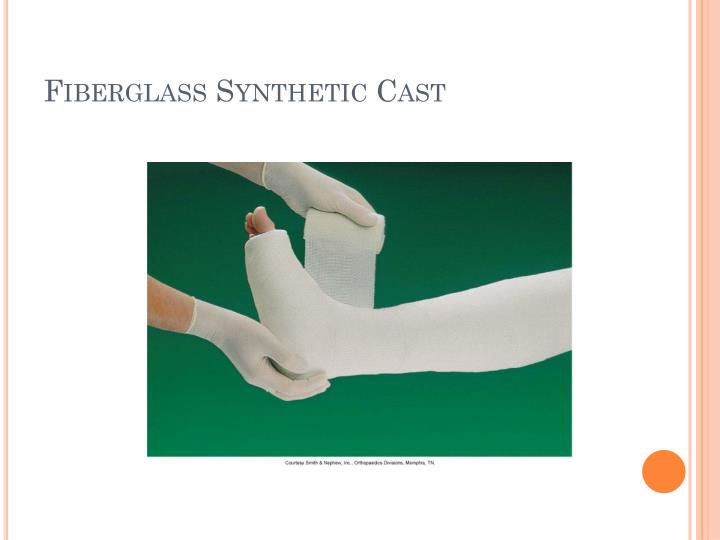 Fiberglass Synthetic Cast