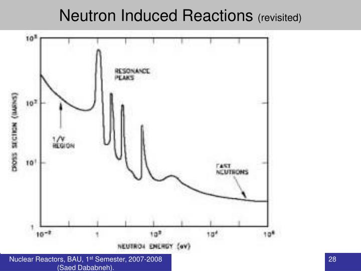 Neutron Induced Reactions