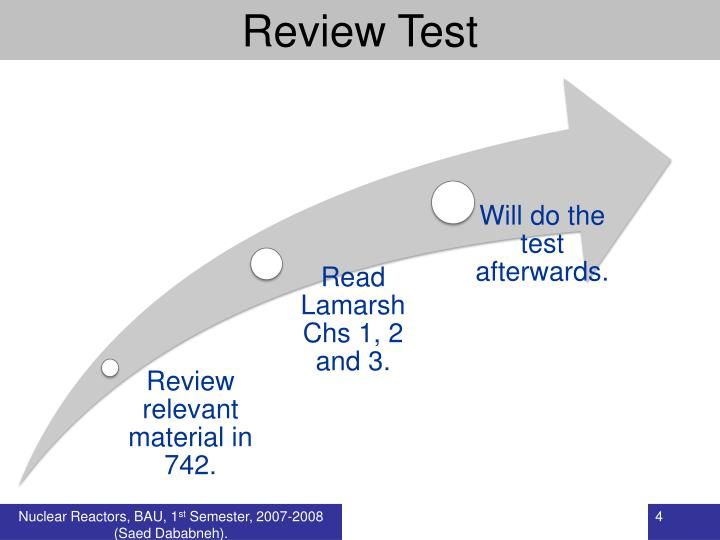 Review Test