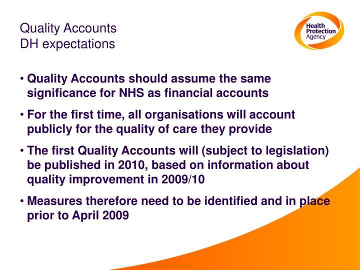 Quality Accounts