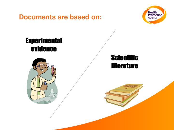 Documents are based on: