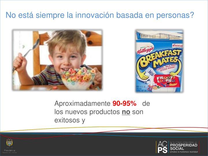 No está siempre la innovación basada en personas?