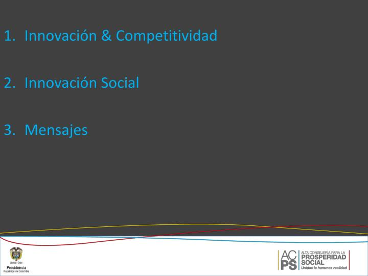 Innovación & Competitividad