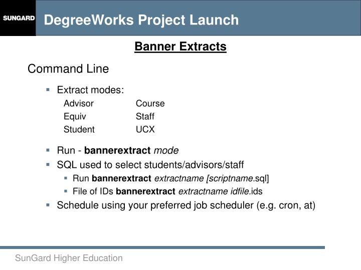 Banner Extracts