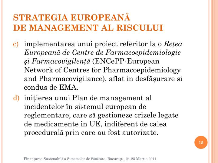 STRATEGIA EUROPEAN