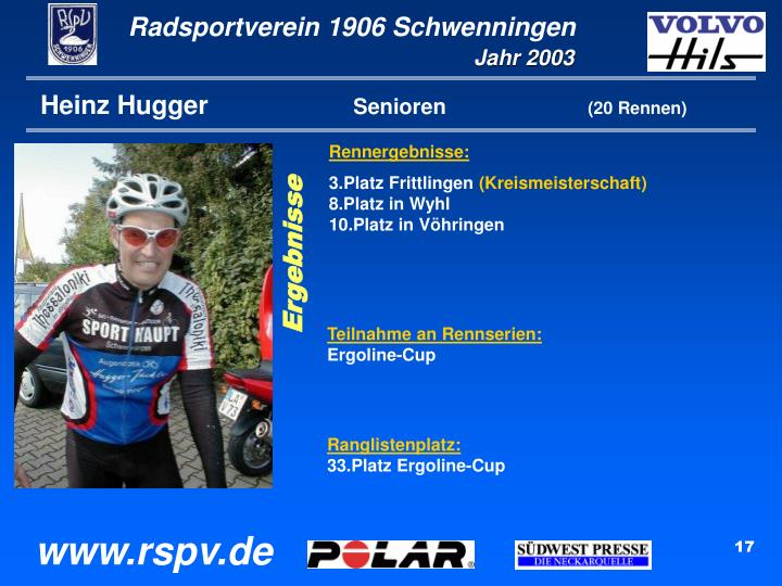 Heinz Hugger