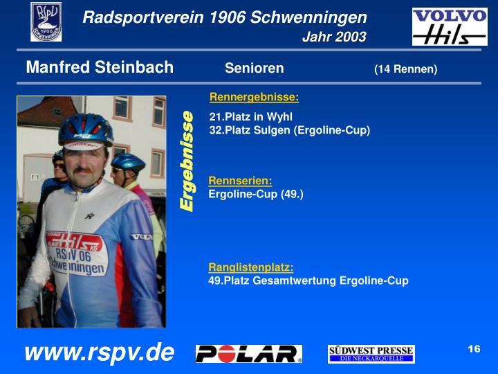 Manfred Steinbach