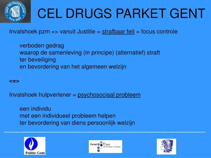 CEL DRUGS PARKET GENT