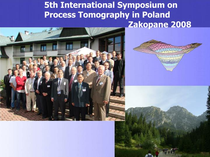 5th International Symposium on Process Tomography