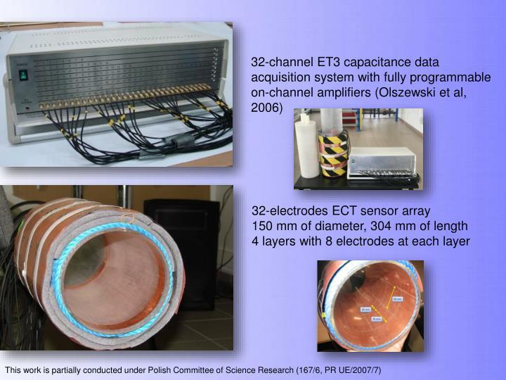 32-channel ET3 capacitance data acquisition system