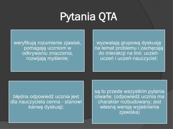 Pytania QTA