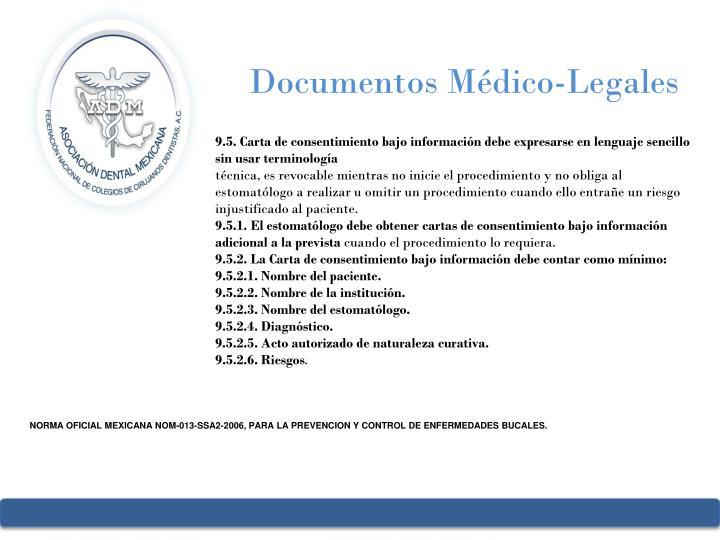Documentos Médico-Legales