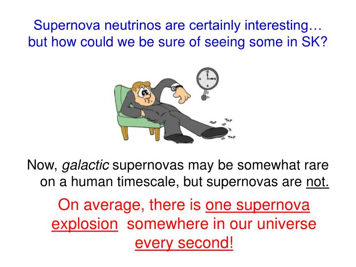 Supernova neutrinos are certainly interesting…
