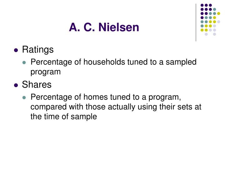 A. C. Nielsen