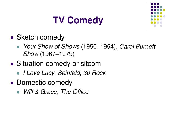 TV Comedy