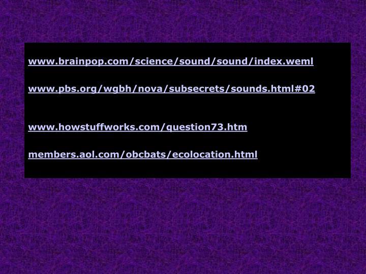 Watch a movie about sound
