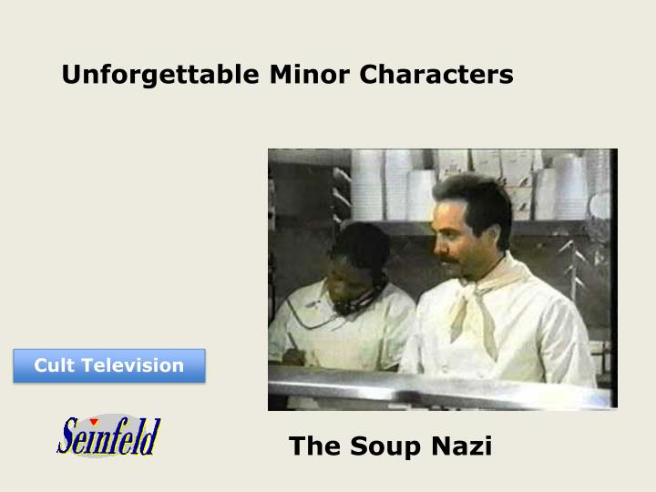 Unforgettable Minor Characters