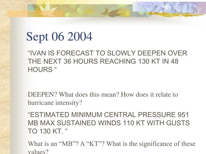 Sept 06 2004
