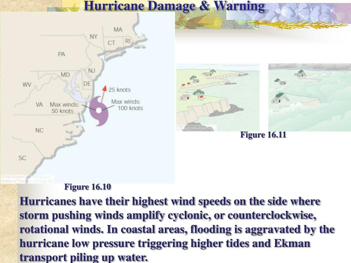 Hurricane Damage & Warning