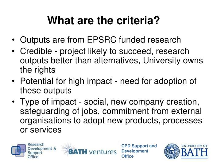 Outputs are from EPSRC funded research