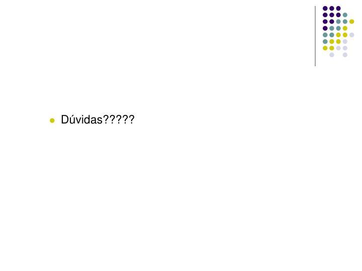 Dúvidas?????