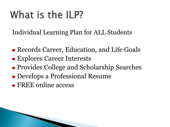 What is the ILP?