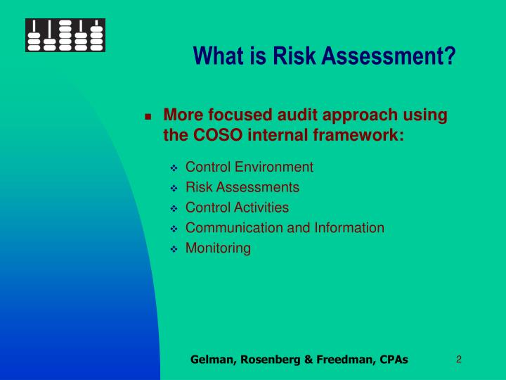 What is Risk Assessment?