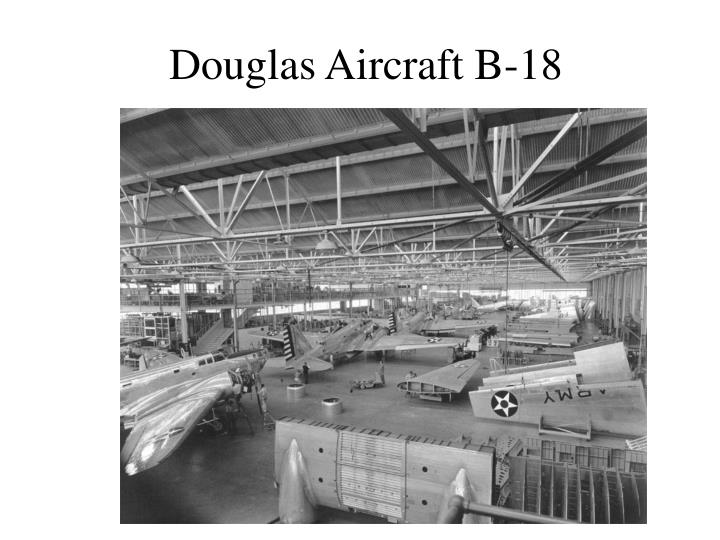 Douglas Aircraft B-18