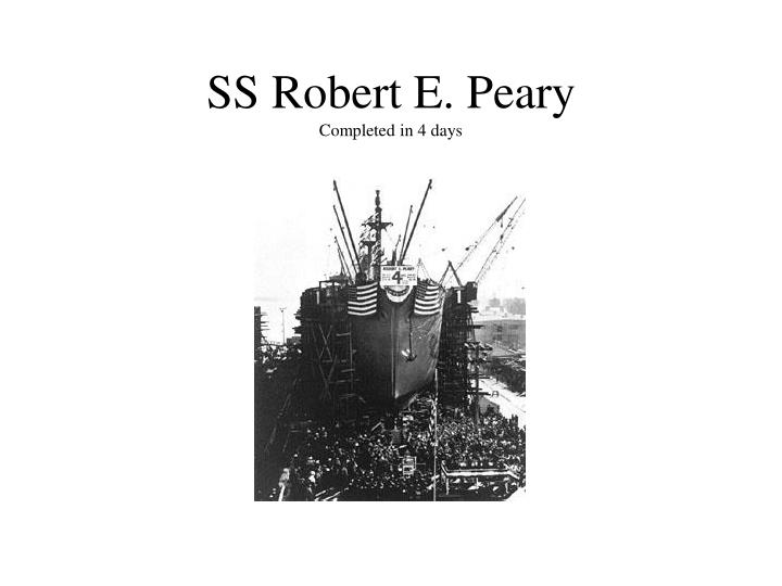 SS Robert E. Peary
