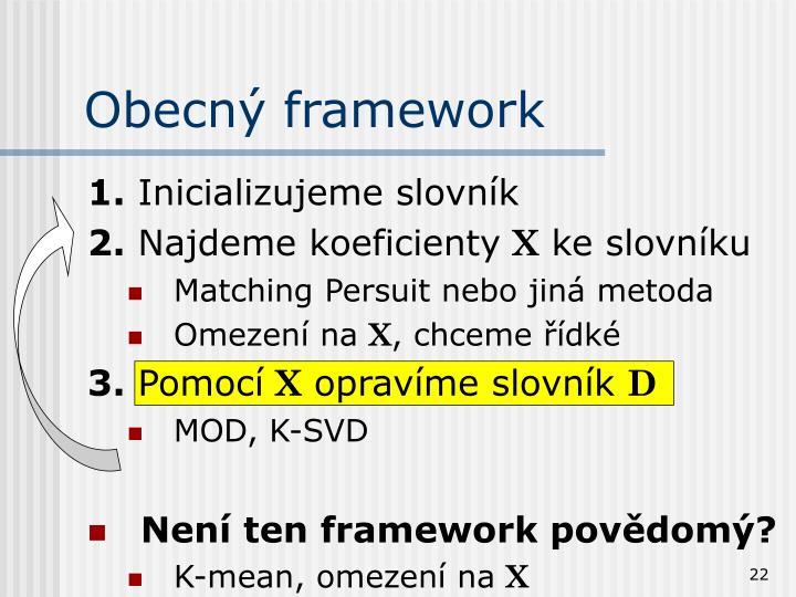 Obecný framework