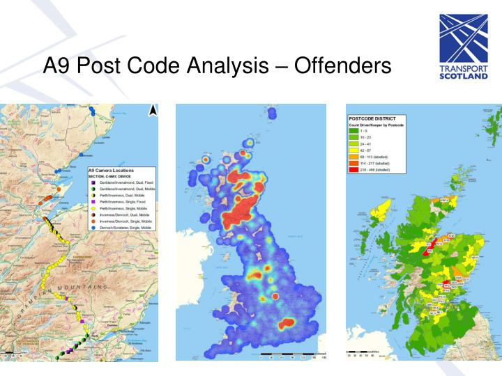 A9 Post Code Analysis – Offenders