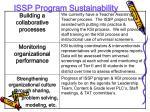 issp program sustainability1