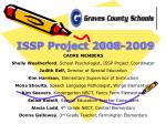 issp project 2008 2009