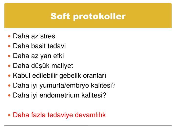 Soft protokoller