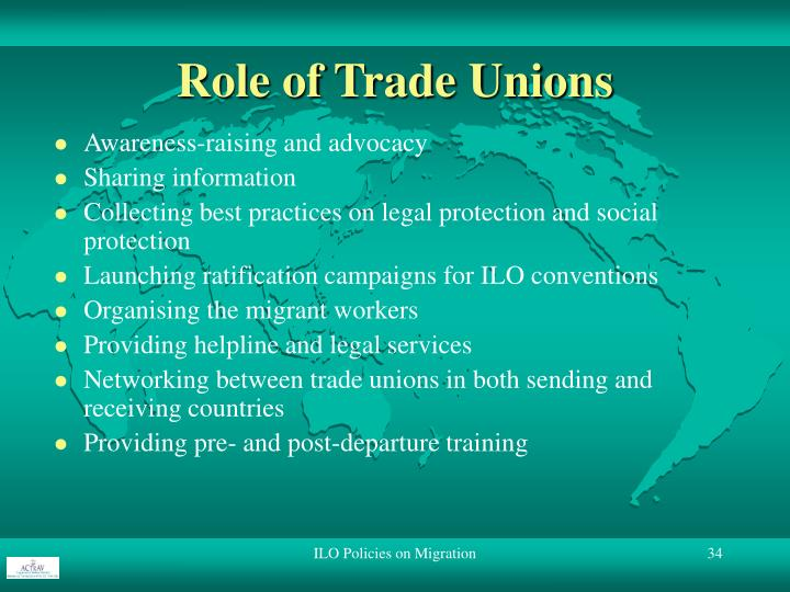 Role of Trade Unions