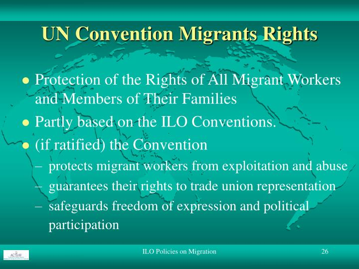 UN Convention Migrants Rights