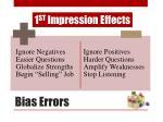 bias errors
