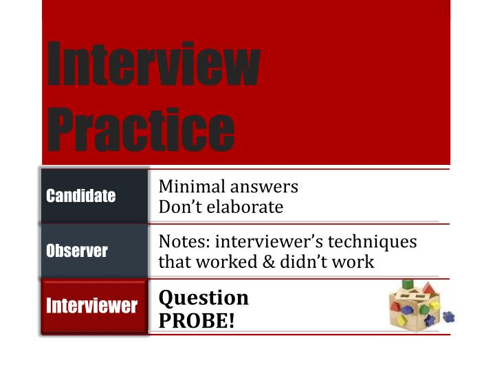Interview Practice