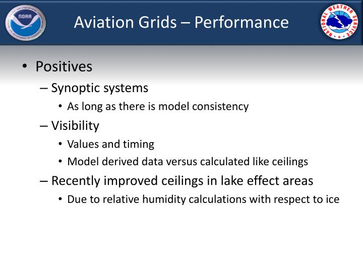 Aviation Grids – Performance