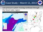 case study march 11 2013
